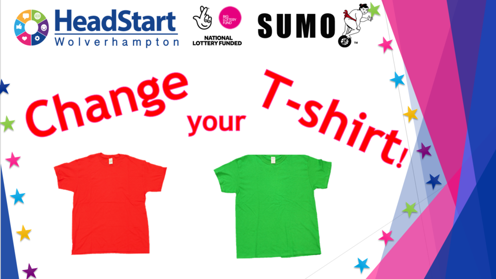 Change your t-shirt assembly