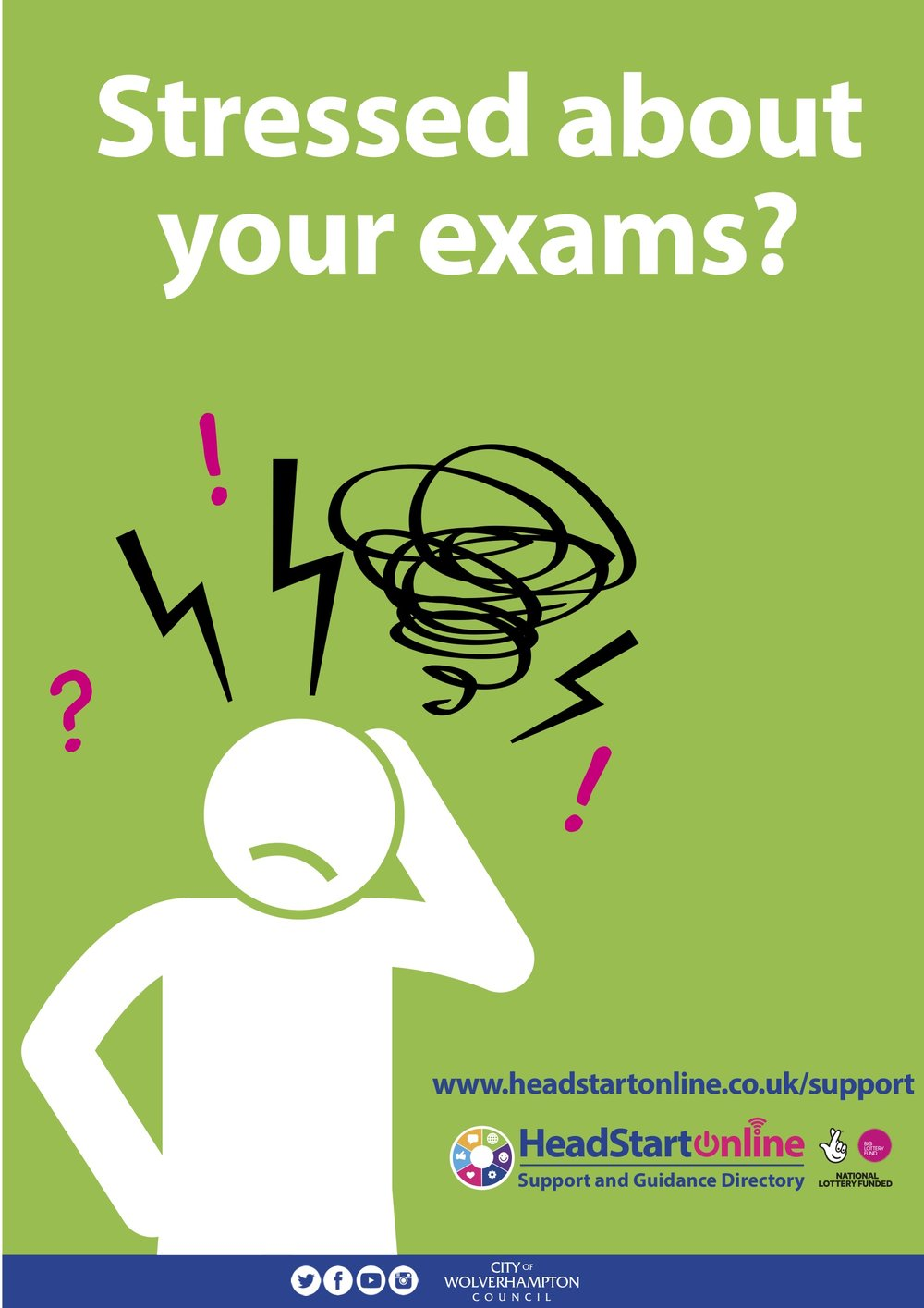 Stressed about your exams?