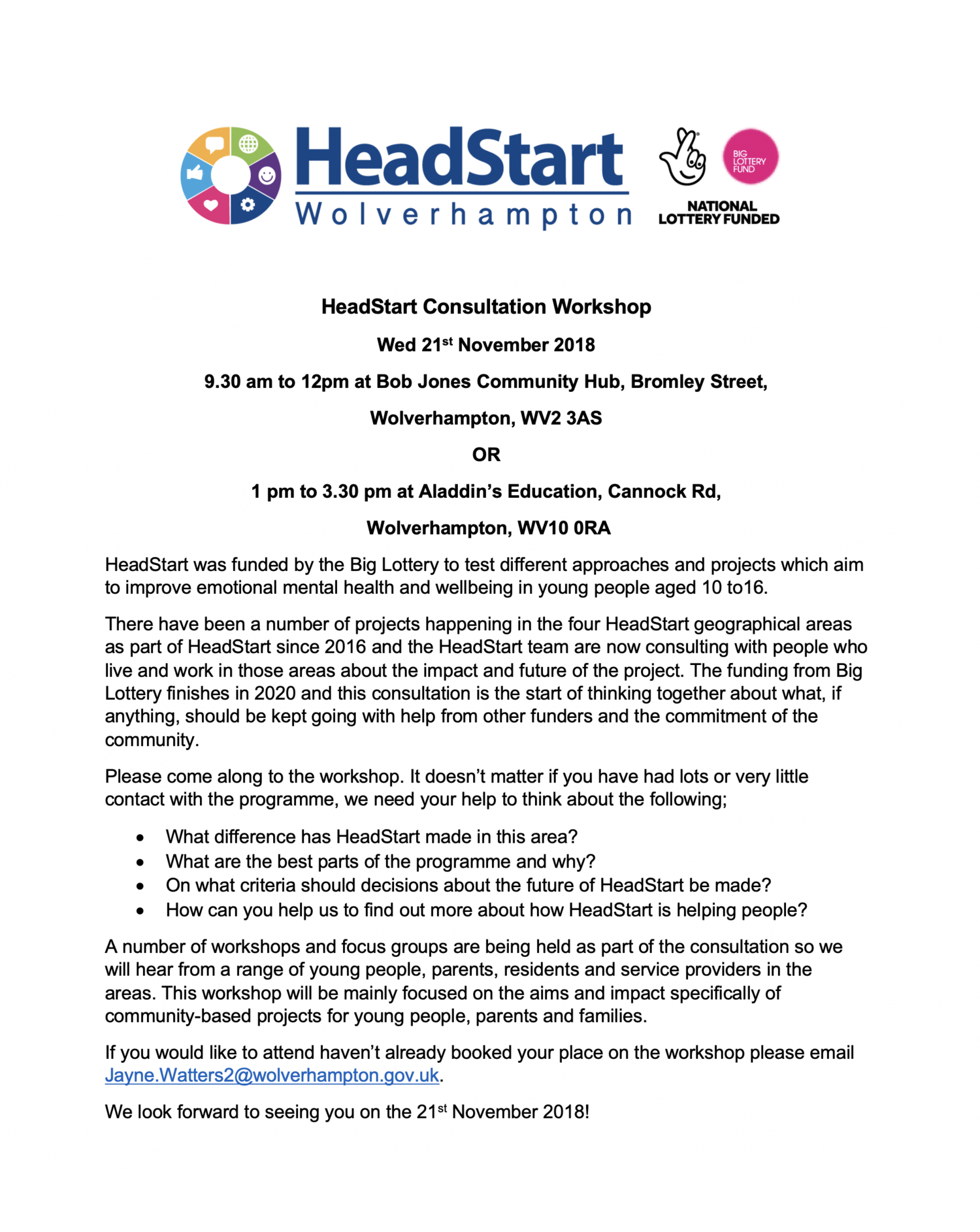 How Should I Say It Workshop For >> Come And Have Your Say And Share Your Thoughts On The Future Of