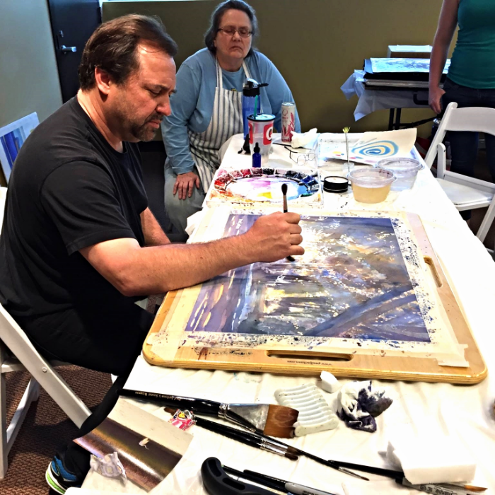 PAUL JACKSON DRAMATIC LANDSCAPES WATERCOLOR WORKSHOP