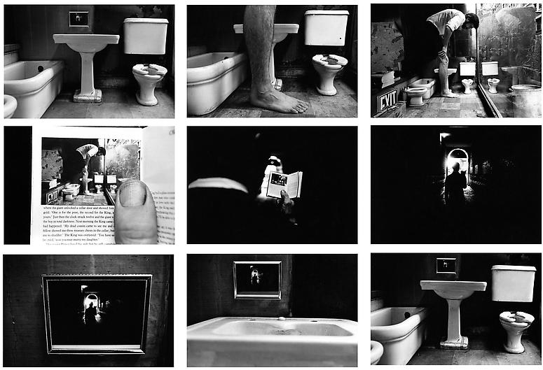Things Are Queerby Duane Michals, 1973.