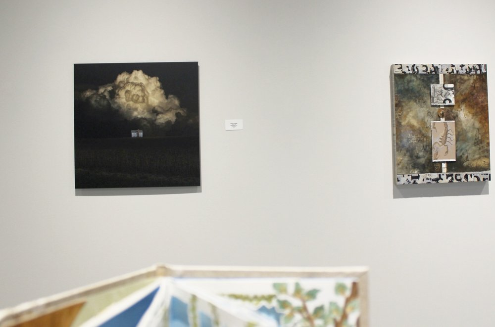 "Caldwell's award-winning artwork ""Generational Sin"" is featured in Gallery I of  Tell Me A Story  at the Foundry Art Centre."