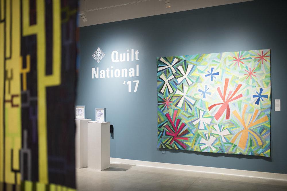 Quilt National '17 — Foundry Art Centre : quilt national - Adamdwight.com