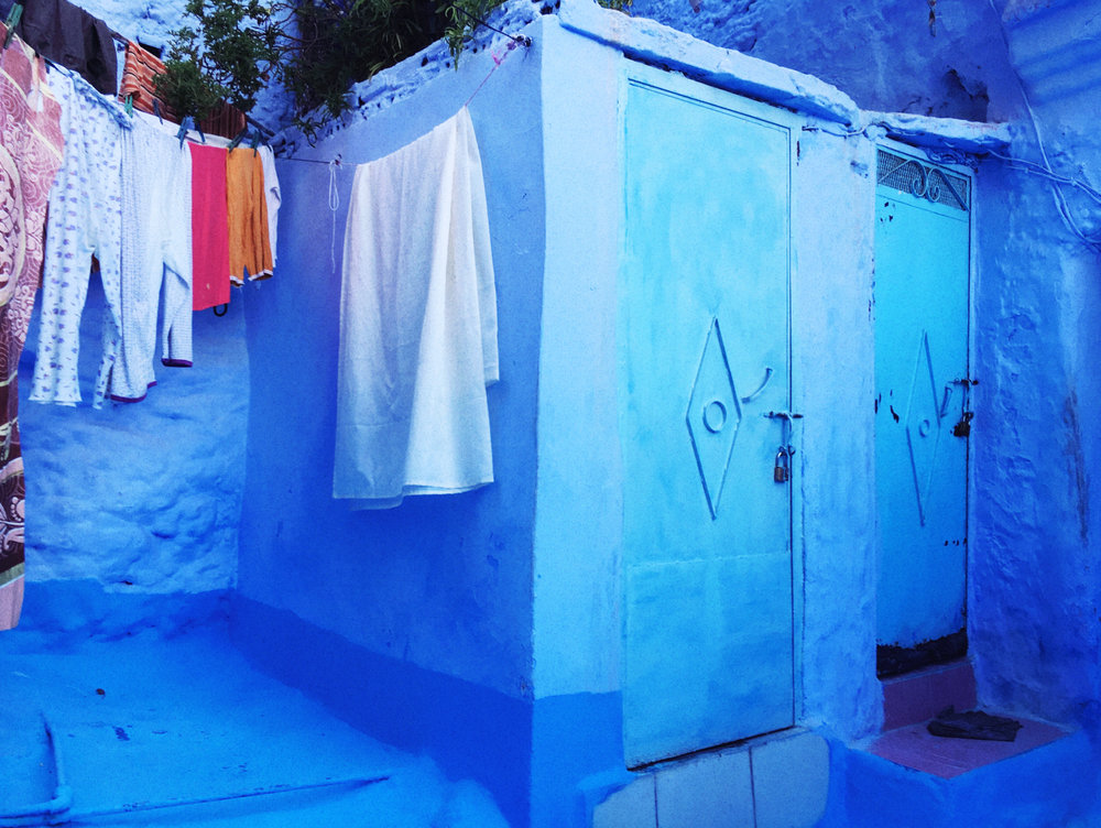 laundry day, chefchaouen | 2016