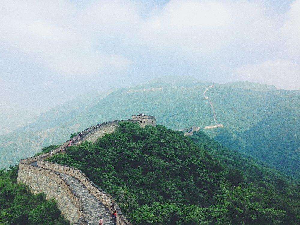 mutianyu, great wall of china