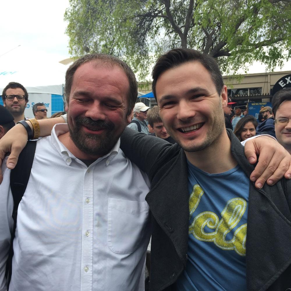 Massimo Banzi of Arduino, an Italian legend!
