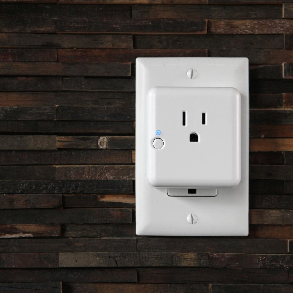 A SmartThings Outlet is a convenient way to control almost any electronic device.