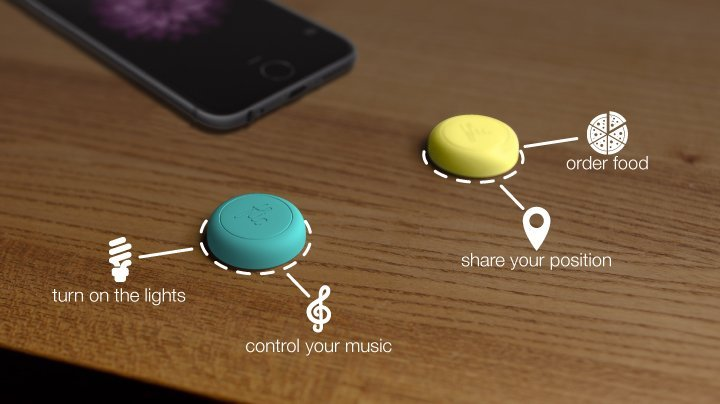 Flic Buttons can be used to automate actions and interact with smart devices.