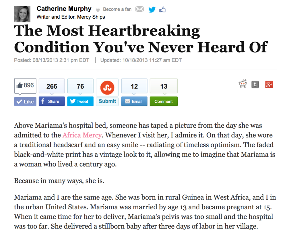 08/13/2013 The Most Heartbreaking Condition You've Never Heard Of The Huffington Post