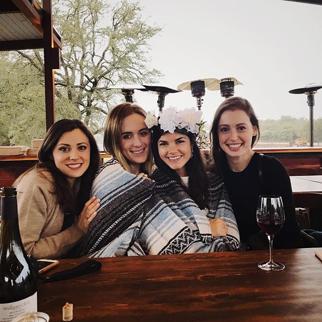 A bachelorette weekend for the books! We loved celebrating this gal. Happy wedding month @kathryn_worsham! ♥️🍷♥️