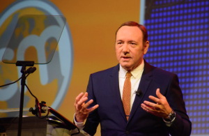 Kevin Spacey at the Content Marketing World conference