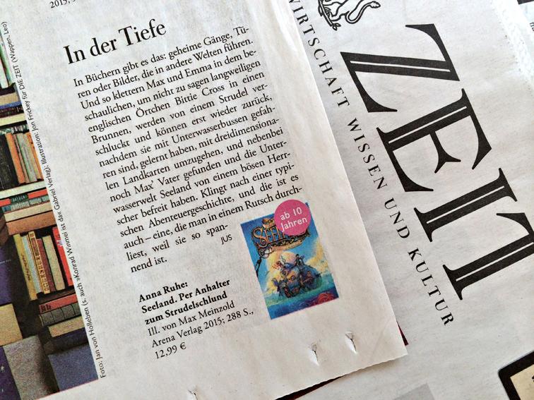 """Die Zeit über """"Seeland"""" März 2015"""