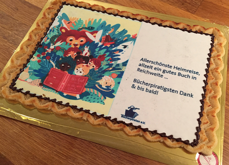 "Preisverleihung ""Goldener Bücherpirat 2016"""