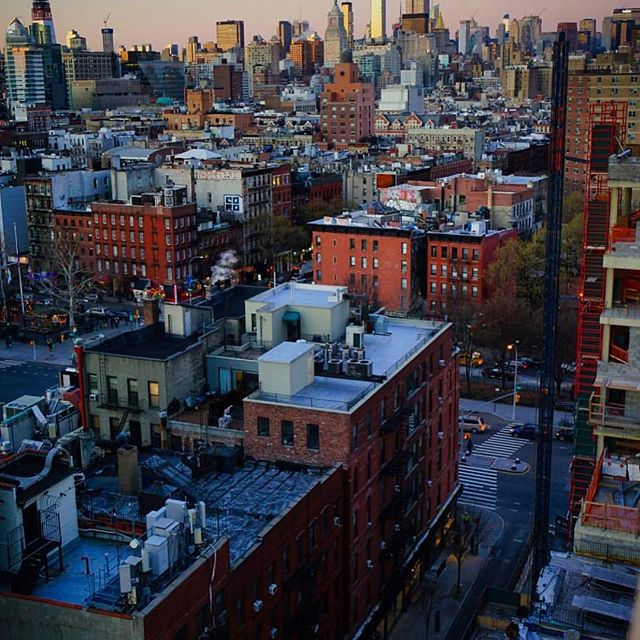 Never gets old.  #lowereastside #hipandfunky #oldworldfabrics #tenementmuseum #russanddaughters #katzdelicatessen #inspiration #lovingtheview
