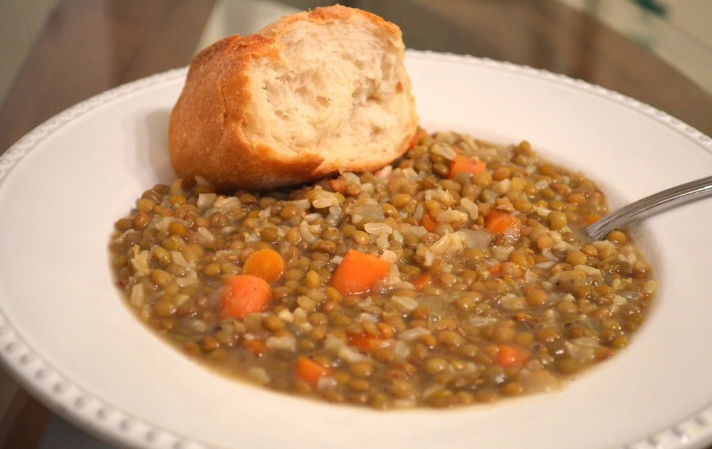 Mamaw's Lentil Soup