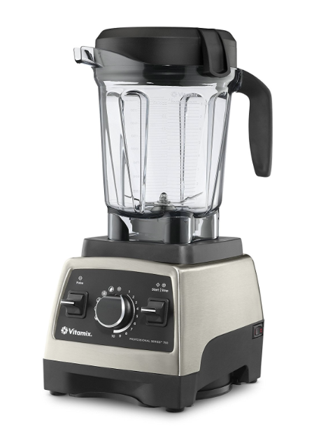 Vitamix Pro Series 750 Brushed Stainless Finish with 64oz container