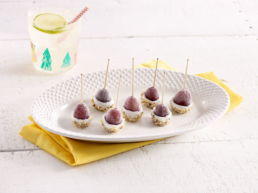 Frozen Grape Pops
