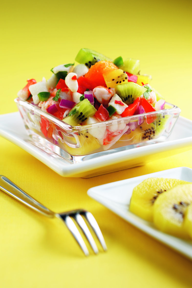 Classy Citrus and Kiwifruit Ceviche
