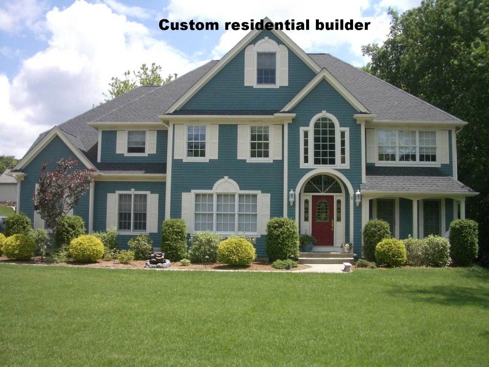 custom residential builder