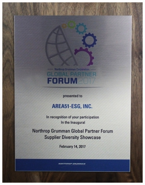 Northrop Grumman Global Partner Forum Supplier Diversity Showcase Resized.JPG
