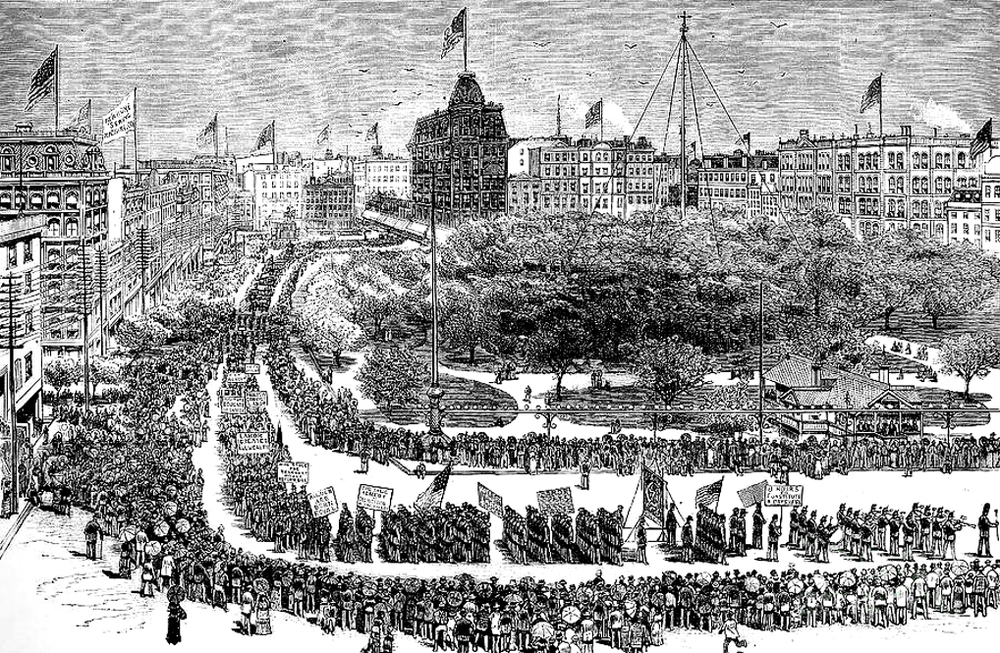Labor Day Parade, Union Square, New York, 1882