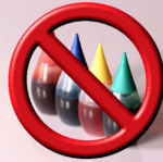 We advise against using food coloring dyes in your icing. It may discolor the gingerbread house paint.