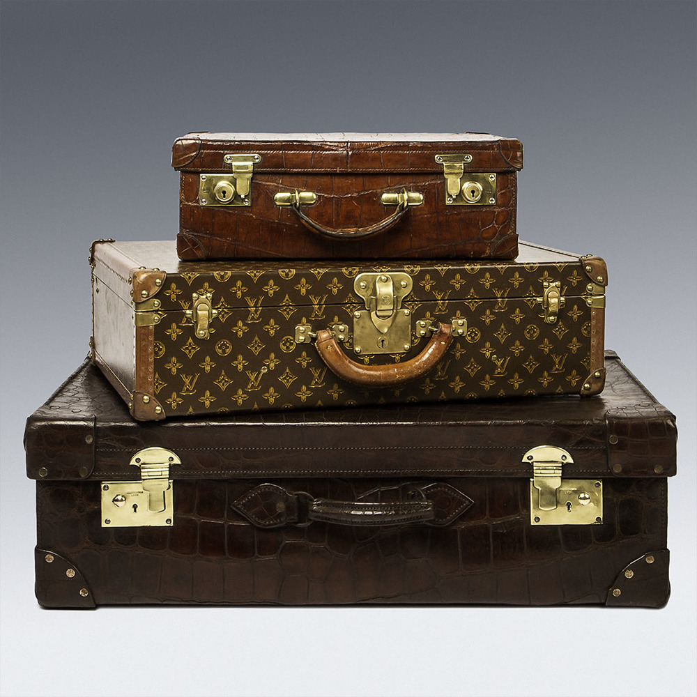 Louis Vuitton suite cases