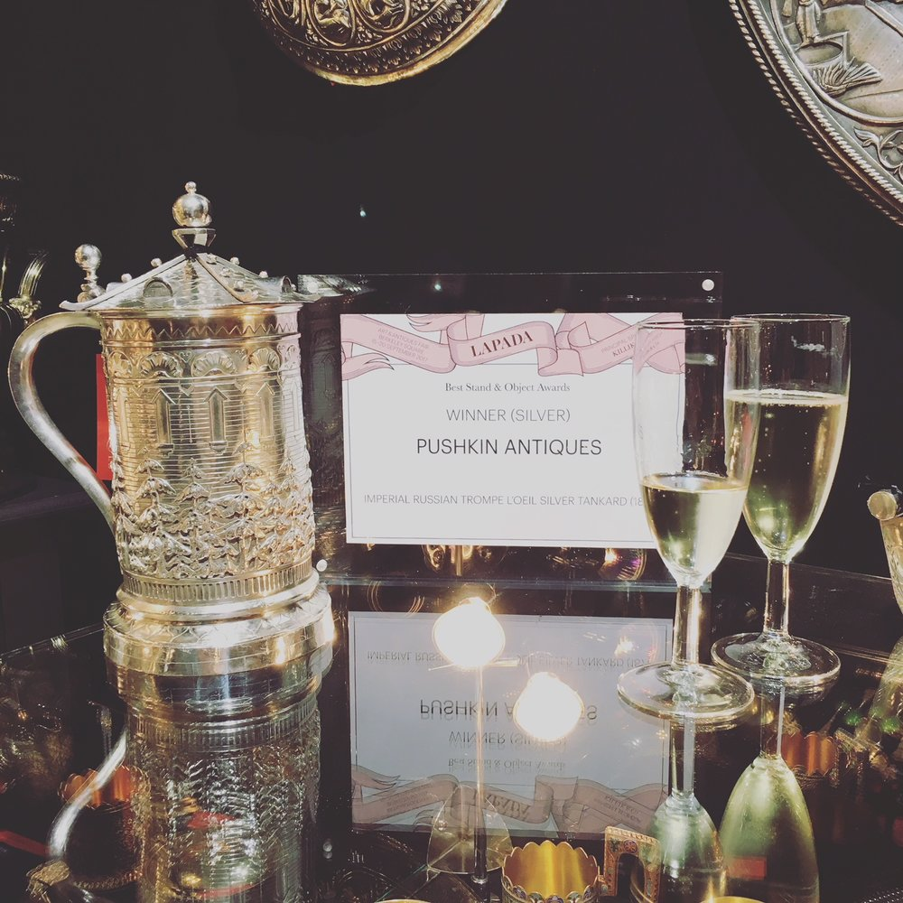 Pushkin Antiques LAPADA Best Stand & Object Award (Silver)