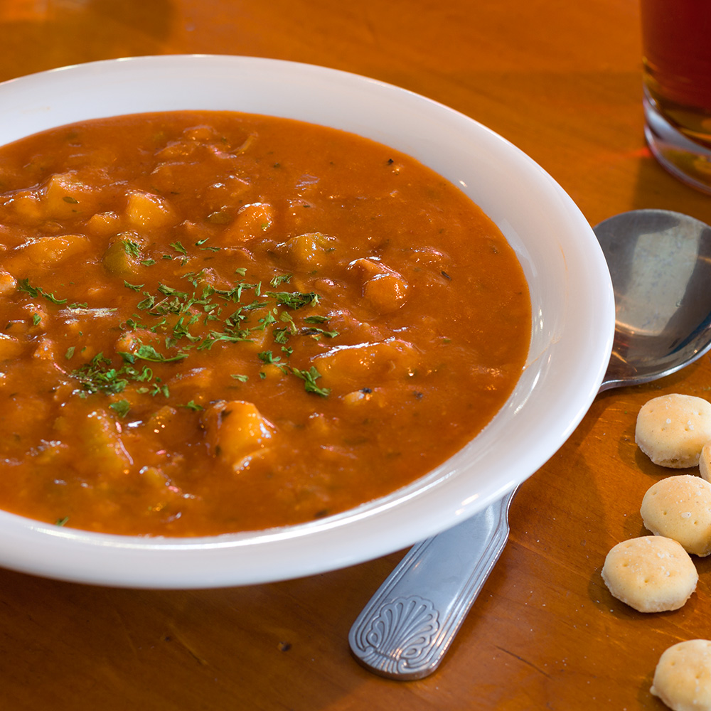 Manhattan Clam Chowder Bowl