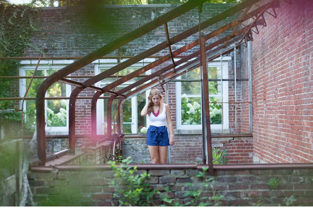 You've Got Flair | Clare Inside Greenhouse, Senior 2015