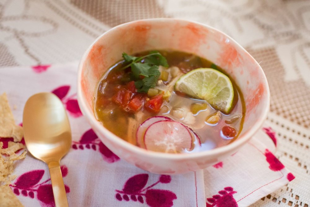 Chicken Posole Soup Recipe | You've Got Flair