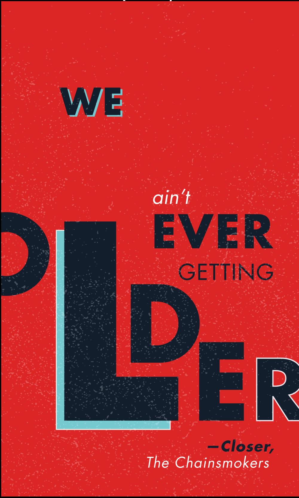 Closer Lyric Design | You've Got Flair