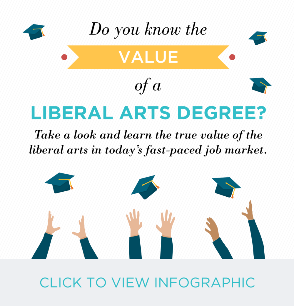 You've Got Flair | Infographic Design | Do You Know the Value of a Liberal Arts Degree?