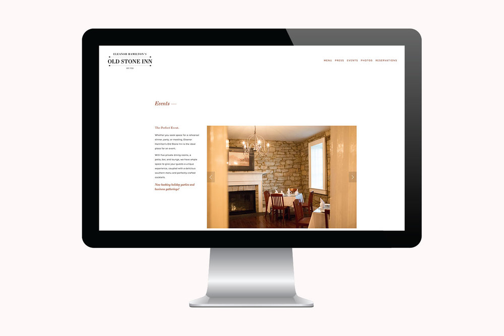 Copy of You've Got Flair | Websites | Eleanor Hamilton's Old Stone Inn | 003