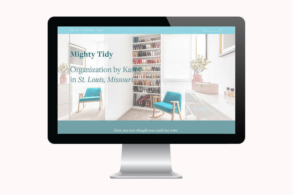 Copy of You've Got Flair | Websites | Mighty Tidy | 001