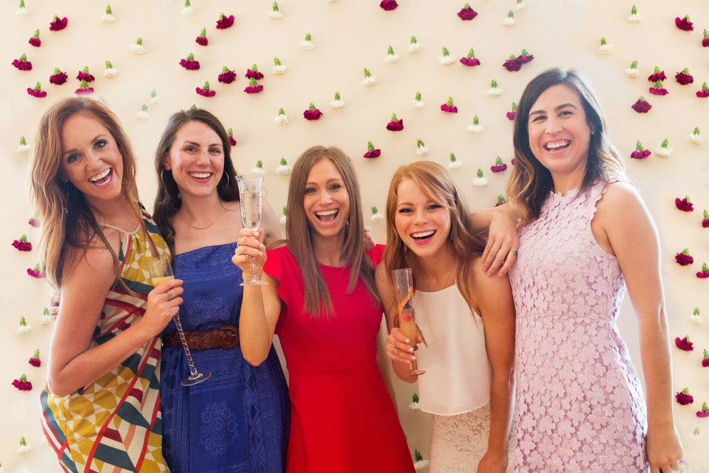 04 /   Flower Power: A Spring Bridal Shower