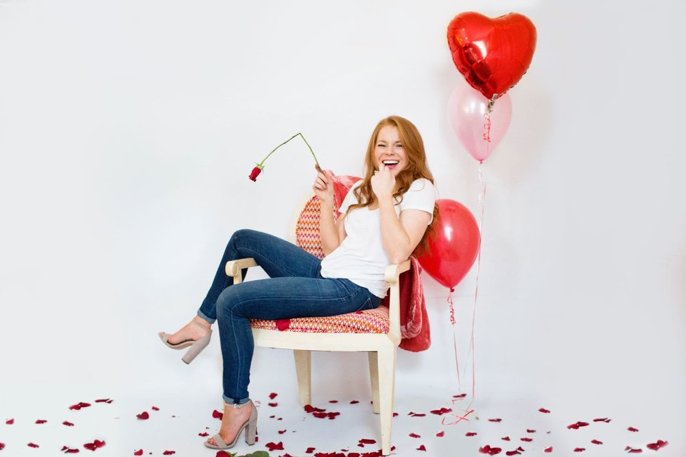 Red Hot Love Valentine's Day Shoot | You've Got Flair