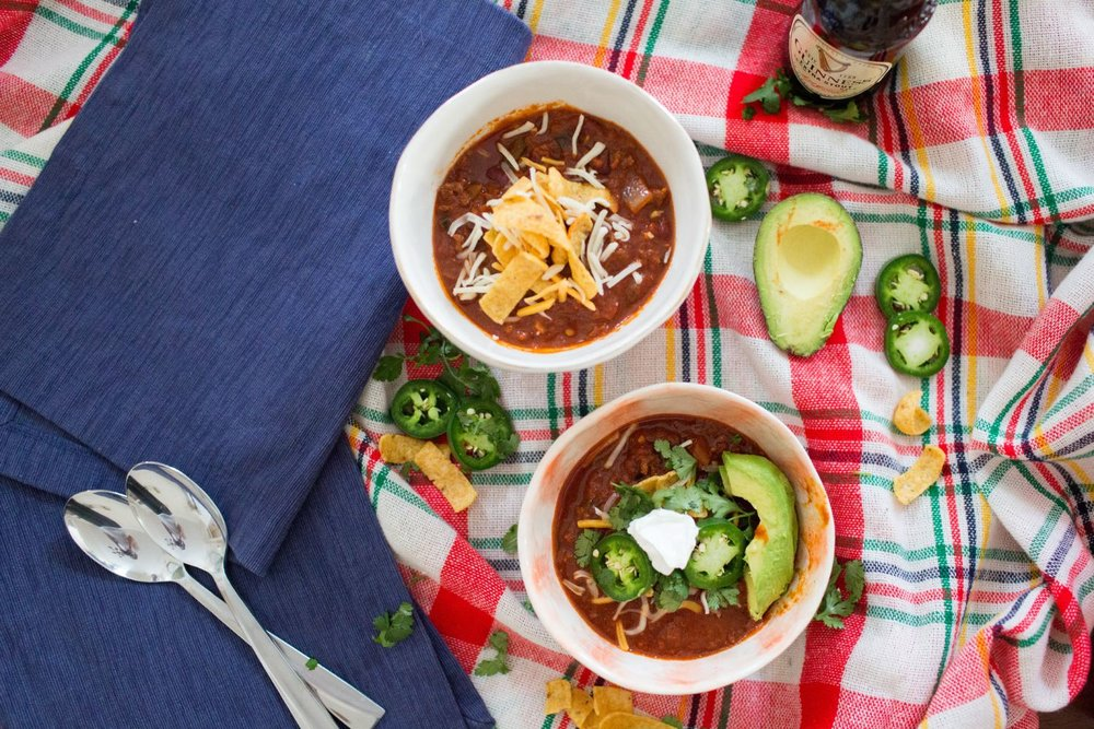 Stout Beer Chili Recipe| You've Got Flair