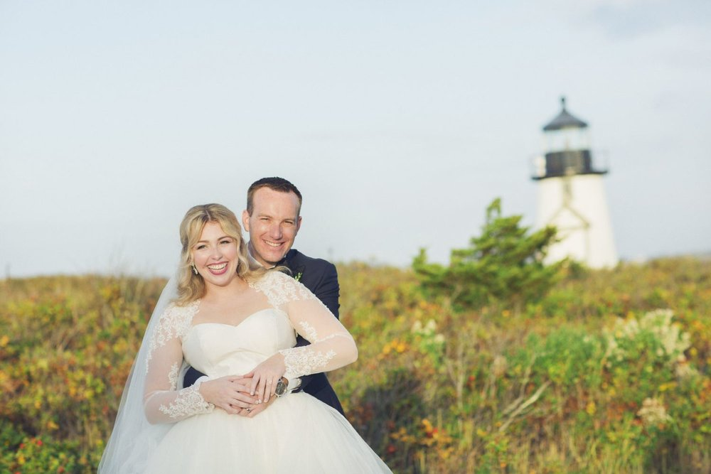 Ellie + Mike - I had the pleasure of photographing my friend's October wedding in Nantucket on behalf of Blink of an Eye Photography.