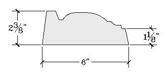 Molding 1 Profile