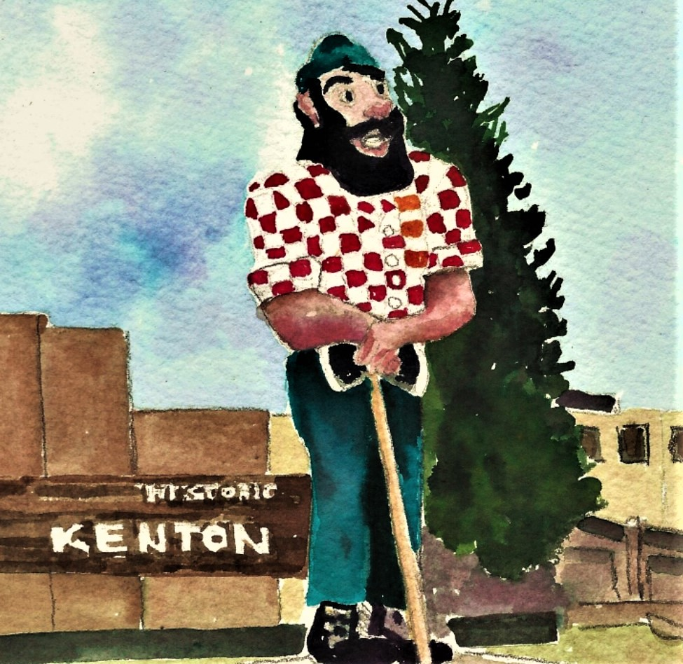 PAUL BUNYAN - HISTORIC KENTONPORTLAND, OREGON