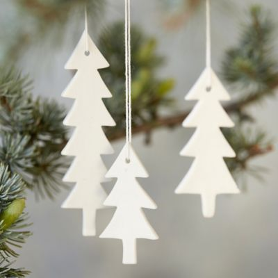 Ceramic Pine Ornament