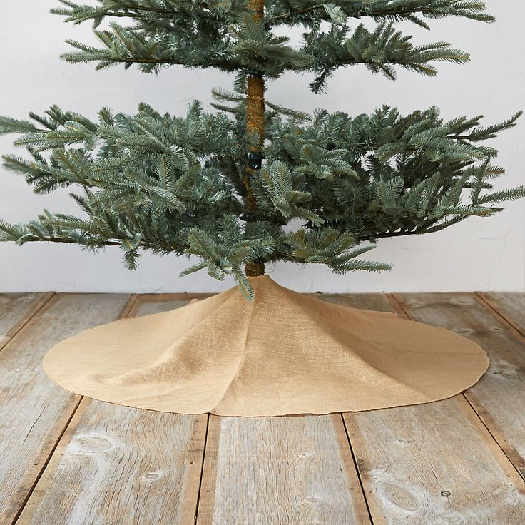Gold & Jute Tree Skirt