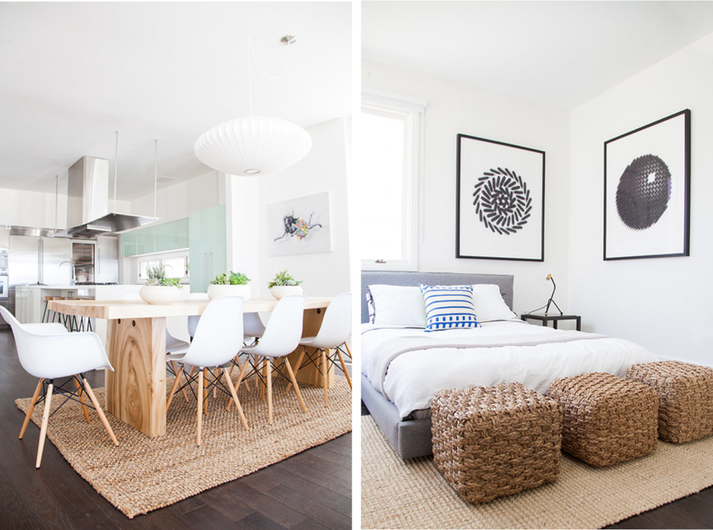 Captivating And I Love The Incorporation Of Cool Blues, Sea Glass Greens And Bold  Artwork To These Rooms. To Me Itu0027s The Definition Of What I Would Call  California Cool ...