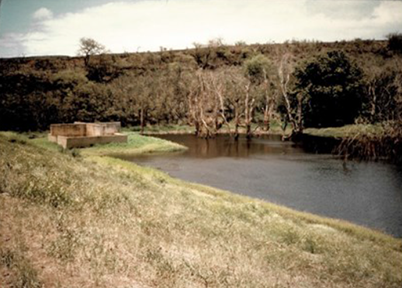 KAHANA DAM Project Agreement: February 8, 1983 Cost: $1,501,186 Construction Period: June 14, 1983 – June 18, 1984