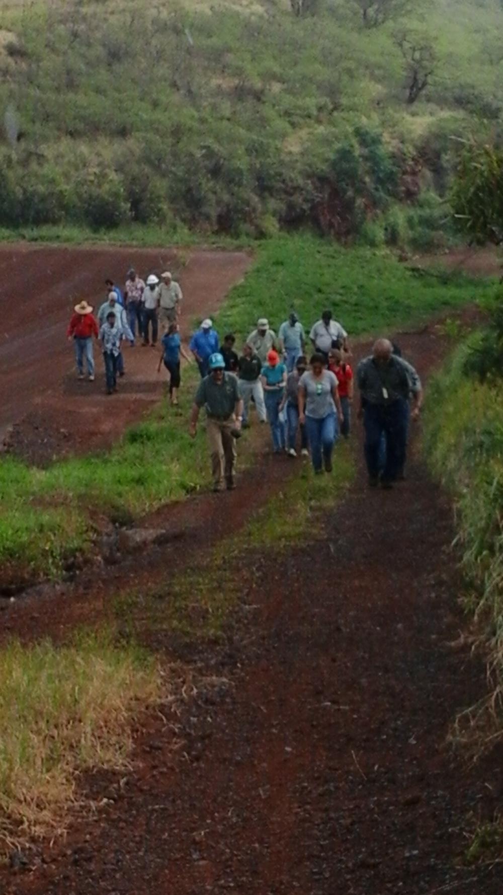 Site Visit at Napili 4-5 Basin
