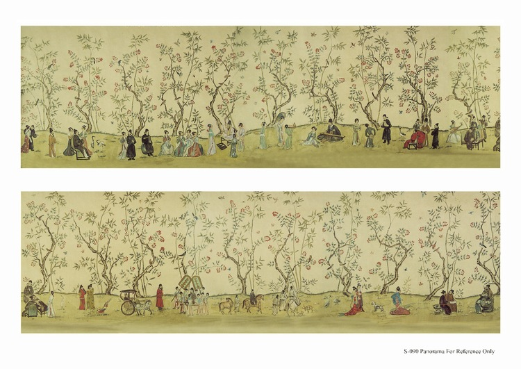 Chinoiserie Wallpaper Patterns — Holton Arts