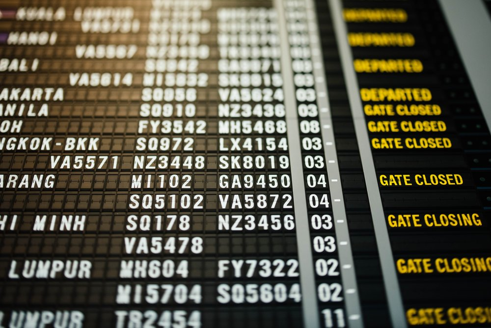The days of airport boards like this are over. Photo by  chuttersnap on  Unsplash