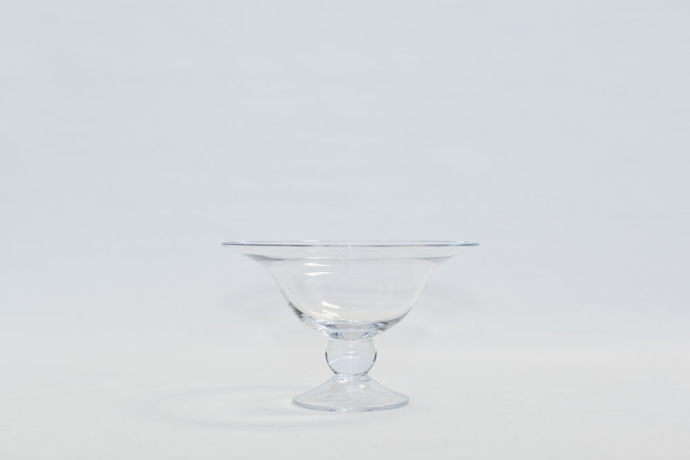 Glass Compote Bowls