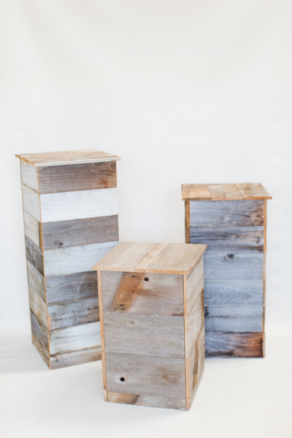 Reclaimed Wood Stands